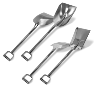 Stainless Steel Shovels