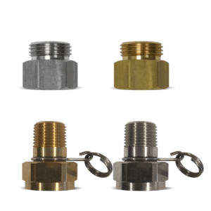 Non-Swivel Hose Adapters