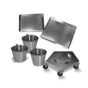 Pails, Trays and Dollies