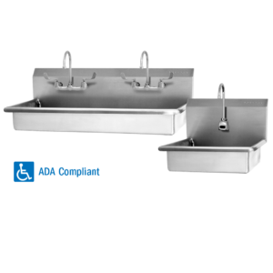 ADA Sinks and Wash Stations